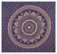 Queen Indian Star Mandala Tapestry Hippie Wall Hanging  Bedspread Decor