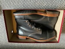 NIB Wolverine 1000 Mile Cap Toe Boot Mens 11.5 Black