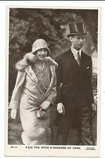 ROYALTY - DUKE & DUCHESS of YORK  Beagles Real Photograph Postcard
