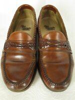 Allen Edmonds Mens Brown Loafers 8.5D