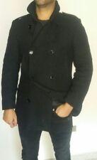 cappotto uomo Dolce&Gabbana prima linea doppio petto lana  nero Tg 48