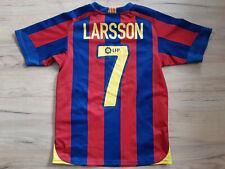 FC BARCELONA! 2005-06! LARSSON shirt trikot maglia camiseta! 5,5/6 ! M - young#