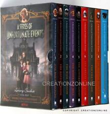 LEMONY SNICKET A SERIES OF UNFORTUNATE EVENTS 9 BOOK SET BRAND NEW ON  NETFLIX