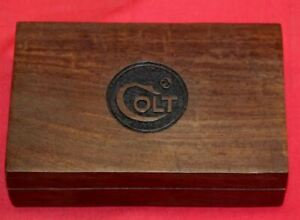 "COLT Firearms Wood Box Case 5 1/2"" x 3 1/4"" x 1 1/2"""