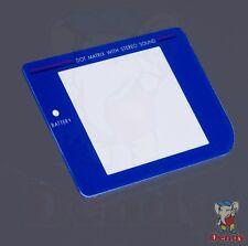 Game Boy Classic – Display Cover/Bildschirm Scheibe / Linse - blau / blue NEU!!!