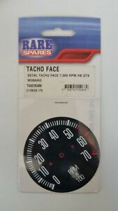 DECAL TACHOMETER FACE 7000RPM TO SUIT HOLDEN HK GTS TACHOMETER