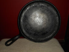 "Wagner Ware Sidney 0 1109 A Cast Iron 10"" Flat Iron Griddle Pan Skillet Vintage"