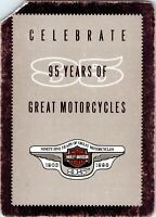Harley-Davidson95Years motorcy SingleSwapPlayingCard - 8, Eight of Hearts 1 Card