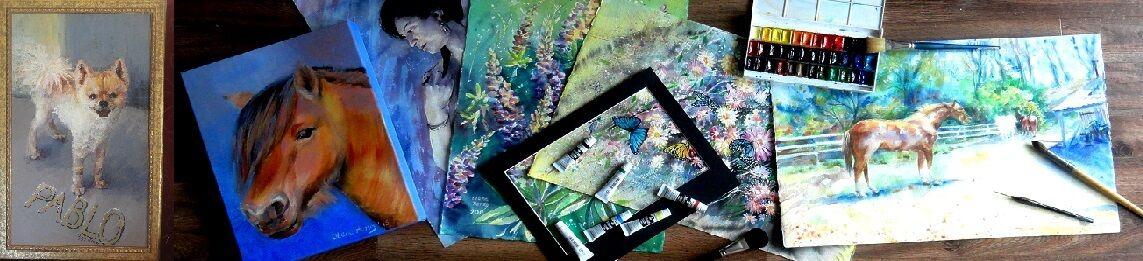 Olena's Greeting cards and Art