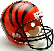 Cincinnati Bengals Riddell NFL Licensed Deluxe Replica Team Logo Football Helmet