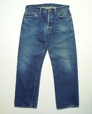 AUTHENTIC VINTAGE 1950 LEVIS 501 XX BIG E RIVETS WWII Rare Denim Jeans W36