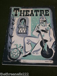 THEATRE # 9 - SPRING 1948 - THE CENTURY THEATRE - WEBSTER REVIVAL
