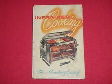 **RARE** Infra-Red Cooking Cookbook by Marie Essipoff Circa 1950's Broil-Quik Co