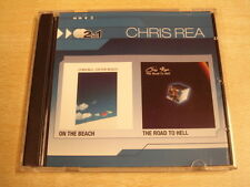 2-CD / CHRIS REA - ON THE BEACH + THE ROAD TO HELL