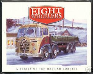 EIGHT WHEELERS  British Lorries Collectors Card Set - Foden AEC Scammell Leyland