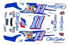 #11 Ricky Craven Old Spice Chevy 1/64th HO Scale Slot Car Waterslide Decals