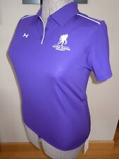 NWT WOMENS UNDER ARMOUR WOUNDED WARRIOR WWP COACH'S SS POLO SHIRT 1001189 LARGE