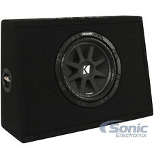 "Kicker TC10 10"" 150W RMS 4-Ohm Comp Series Loaded Subwoofer Truck Box"