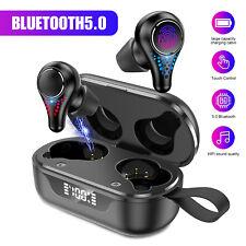 TWS Bluetooth 5.0 Earbuds Wireless Earphones Stereo Deep Bass in-Ear Headphones