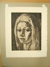 FREDERICK TAUBES SIGNED ETCHING JULIA AAA