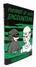 Nigel Watson - Portraits of Alien Encounters - SIGNED FIRST EDITION, 1990 - UFO