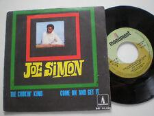 JOE SIMON The Chokin' Kind SPAIN 45 MONUMNT 1969 NM Soul