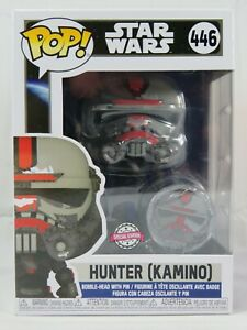 Star Wars Funko Pop - Hunter (Kamino) - No. 446 - Free Protector