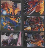 1994 MARVEL FLEER ULTRA X-MEN LIMITED EDITION SUBSET FOIL CARD YOU PICK