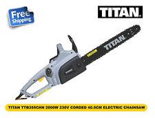 TITAN TTB355CHN 40.5cm 2000W Corded Electric Chainsaw 230V