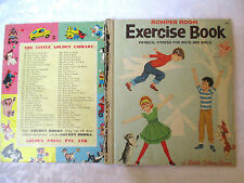 Little Golden Book ROMPER ROOM EXERCISE BOOK  c1964  HC Golden Press Sydney