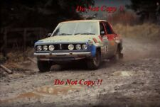 Andy Dawson & Terry Harryman Datsun 160J RAC Rally 1978 Photograph 1