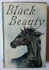 VINTAGE - Black Beauty by Anna Sewell – Collins, 1949, HCDJ