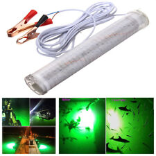 1X 12V 30W 150SMD LED Green Underwater Submersible Fishing Light 360° Light View