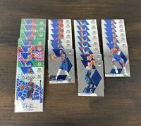 2019-20 Panini Mosaic Dallas Mavericks Lot X30 Green Silver Prizm Blue Reactive