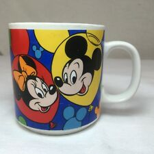 Disney Collectible Coffee Mug Mickey Mouse and Friends Balloons