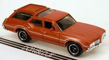 Matchbox 1971 Oldsmobile Vista Cruiser Orange Wagon '71 Olds 1:68 Scale