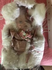 Vintage New 17 Inch Porcelain Bunny Doll Abc Distributing