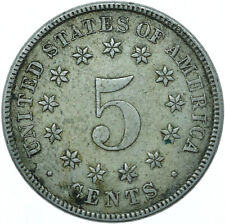 More details for usa / 1868 5 cent / collectible coin beautiful      #wt28058