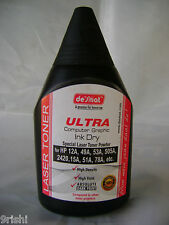 Desmat ULTRA DARK Laser Toner Powder Bottle RICOH SP100/200/300 Printer -150 gms