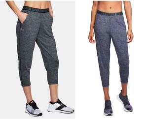 Under Armour UA Women's Play Up Twist Capri Gym Lounge Pants - New