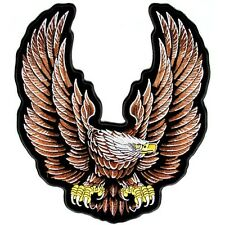 Large Eagle with wings  Biker Patch  ( LARGE ), EAGLE PATCHES, BIKER PATCHES