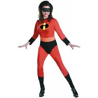 Mrs Incredible Costume Adult The Incredibles Superhero Halloween Fancy Dress