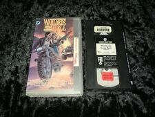 """Warlords from Hell (VHS, 1988) OOP Warner Cheapo 1985 Biker """"B"""" Action! *NO DVD*"""