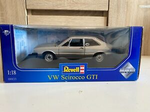 1:18  VW Scirocco GTi REVELL silver 08833 with box