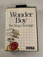Wonder Boy (Sega Master, 1987) CIB