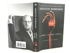 A Wolf at the Table : A Memoir of My Father by Augusten Burroughs 'FLAT SIGNED'
