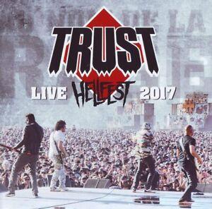 TRUST Live In Hellfest 2017 (2017) 9-track CD + DVD digipak NEW/SEALED