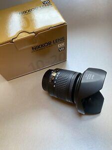Genuine Nikon AF-P DX NIKKOR 10-20mm f 1: 4.5-5.6G VR Camera Lens Used Once