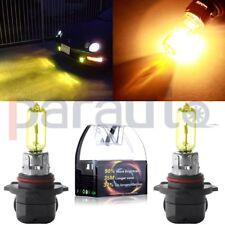2x HB3 9005 9145 Headlight Light H10 9040 3000K YELLOW Bulb 12V-24V HUGE POWER
