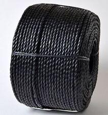 14MM X 10M 'Everlasto' Noir Polypropylène Corde Poly Usage Général
